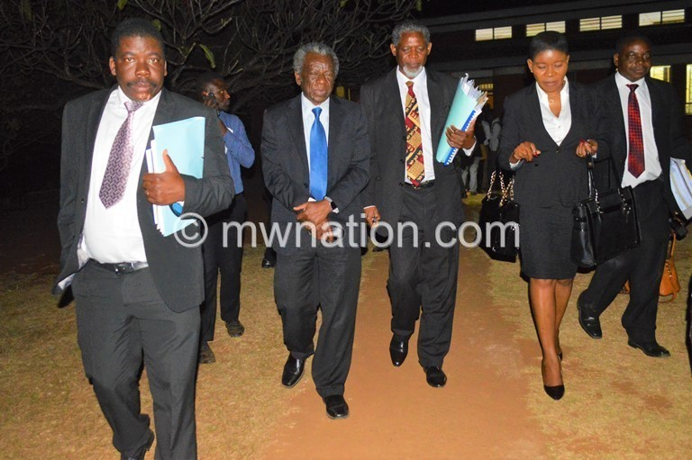 MCP lawyers 1 | The Nation Online