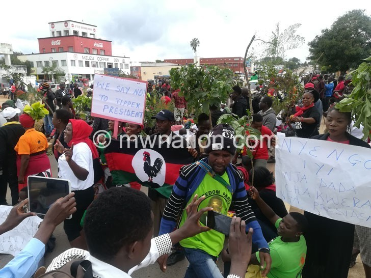 MZUZU MCP PROTESTS 2 | The Nation Online