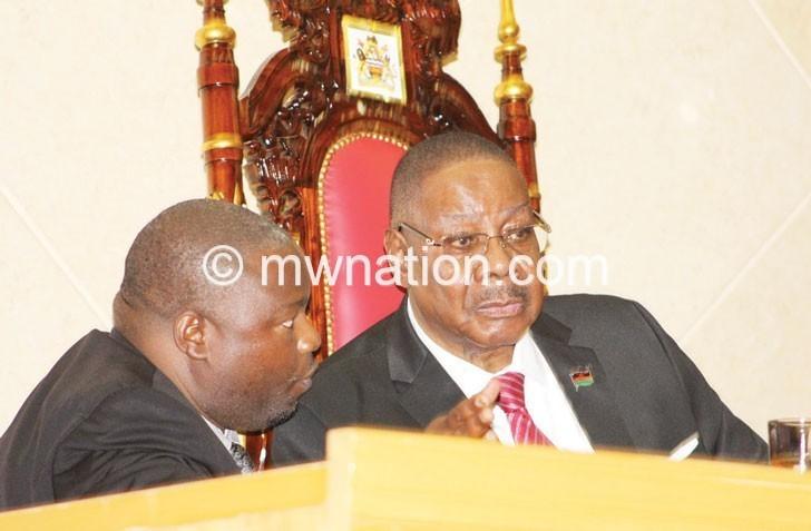 Pete apm nankhumwa parliament | The Nation Online