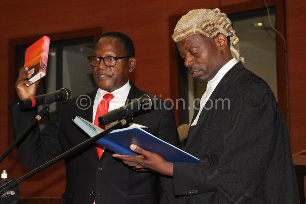Swearing in Chakwera | The Nation Online
