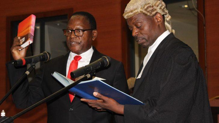 Chakwera sworn in as MP