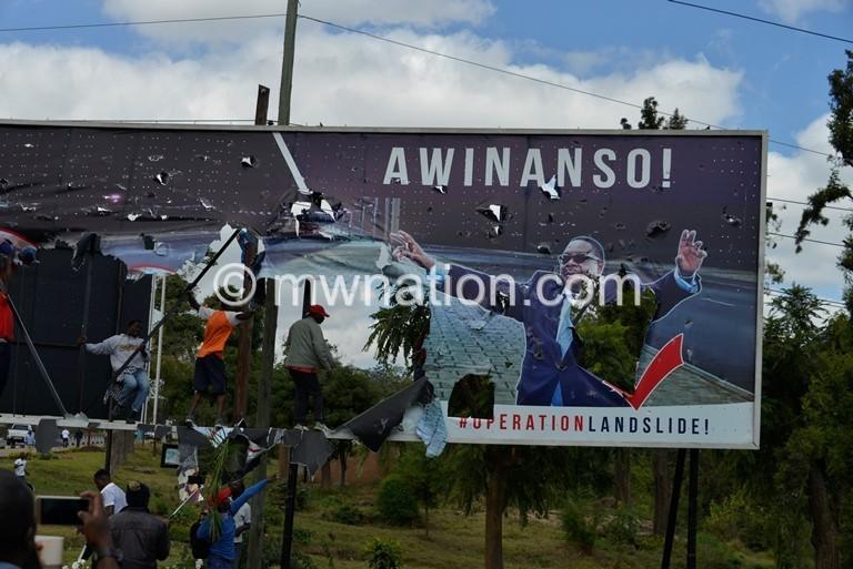 billboard demo   The Nation Online