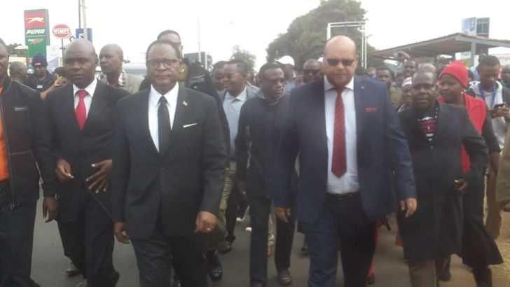 Chakwera to lead march for justice