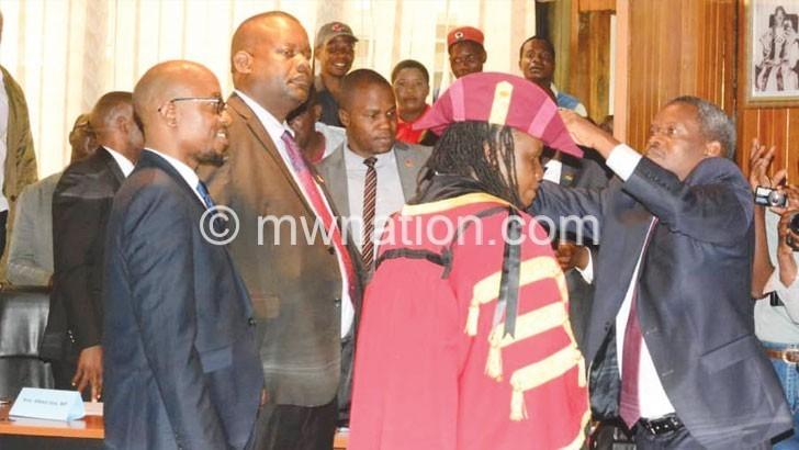 MCP win LL, Kasungu mayorship