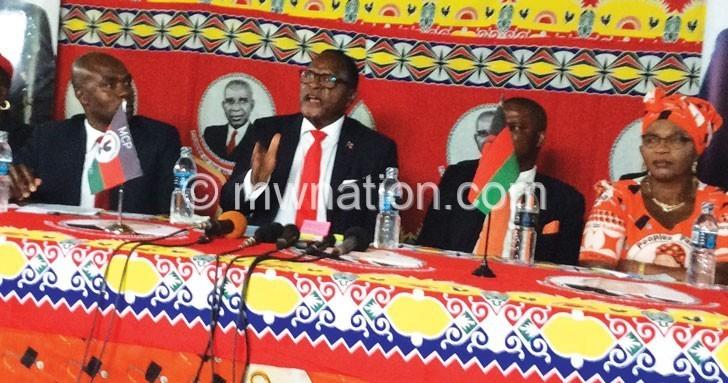 mcp chakwera | The Nation Online