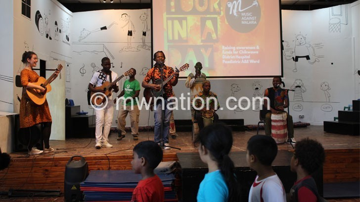 Using music to fight malaria