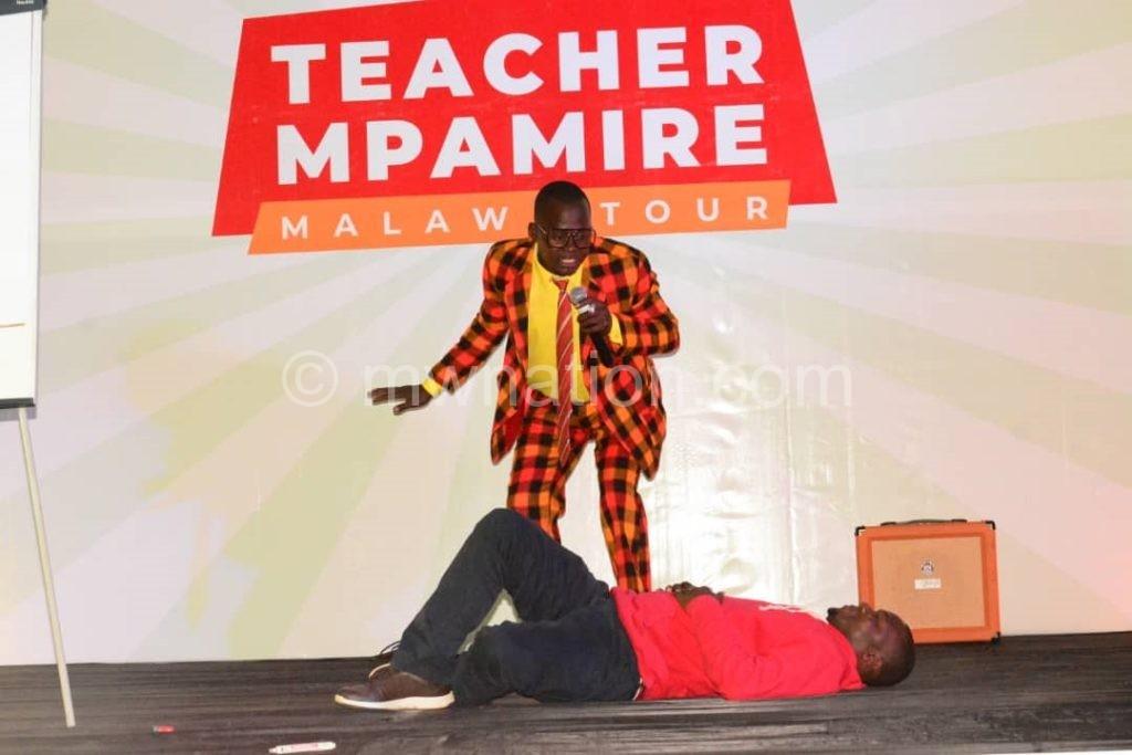teacher mpamire   The Nation Online