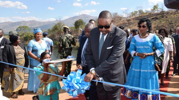 Mutharika lauds mega irrigation project