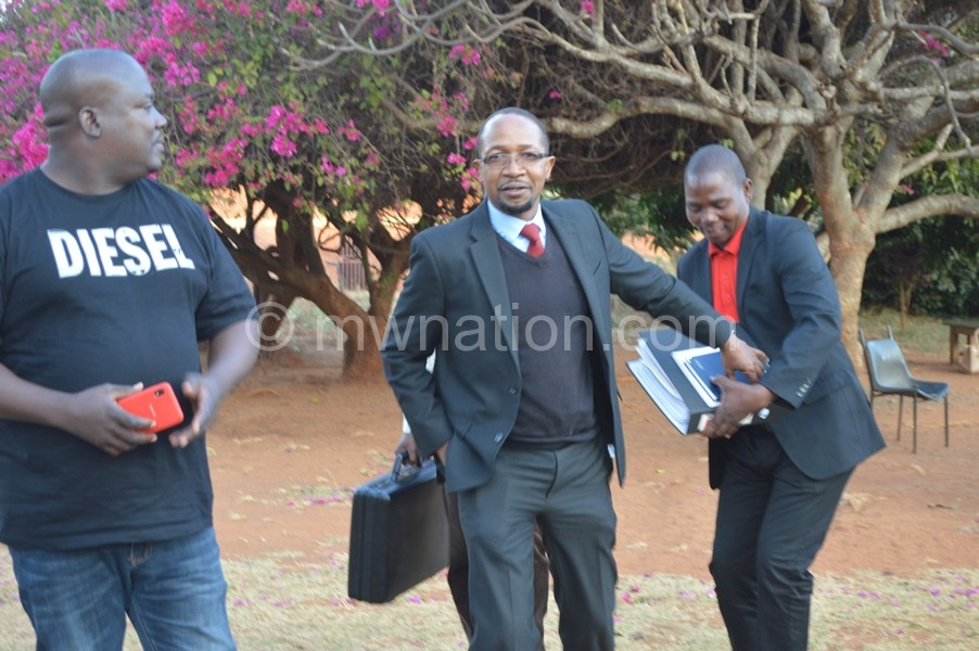 Gorge Mwale C lawyer for UTM comimg out of court | The Nation Online