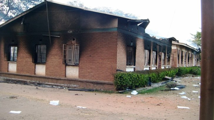 K500m needed for torched  district council offices—DC