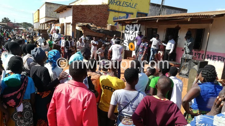 Kupunda addresses people on the trails | The Nation Online