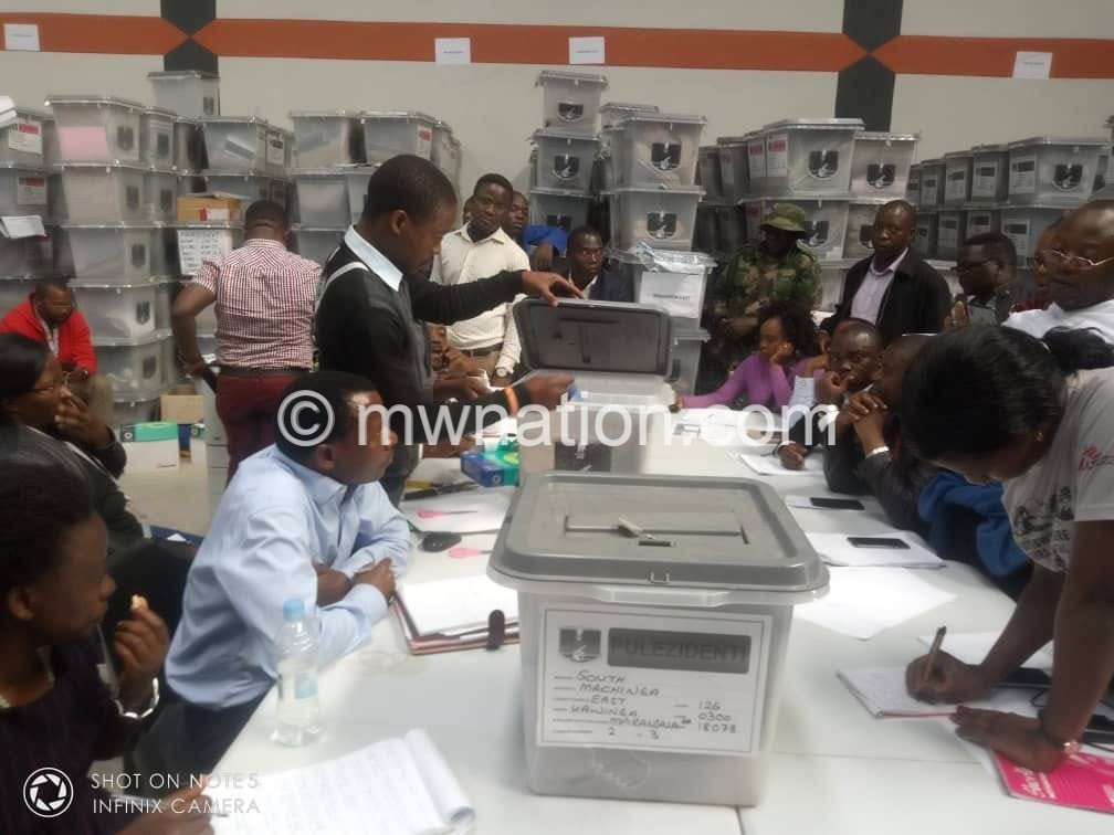 MEC Ballots | The Nation Online