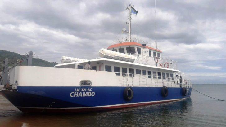 New passenger ship on Lake Malawi