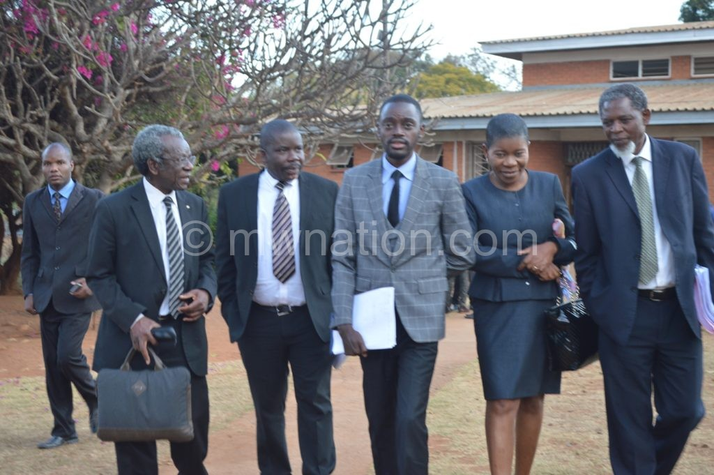 Panel of lawyers moving out of court | The Nation Online