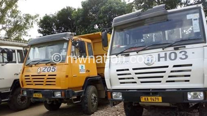Some ZCCC vehicles | The Nation Online