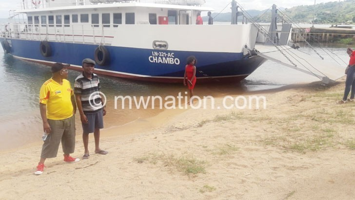 MV Chambo set to  boost trade—officials
