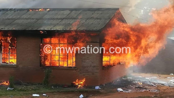 demo fire | The Nation Online