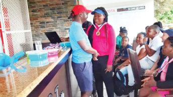 Ntaba, Kyumba shine in South Jnr golf