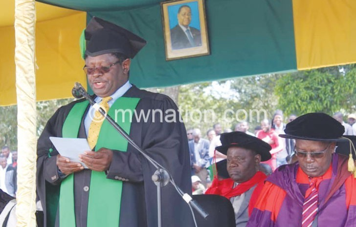 mzuni graduation   The Nation Online