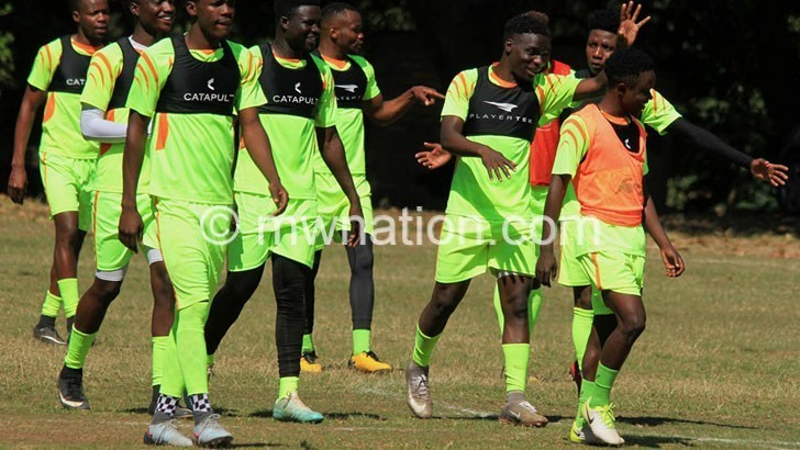 Players' fitness test takes shape