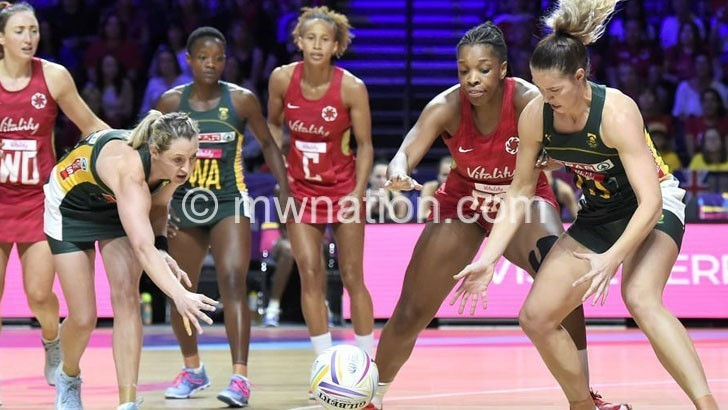 south afrcan netball | The Nation Online