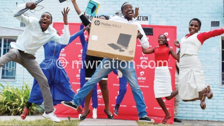 Airtel Malawi boosts ICT at community technical college