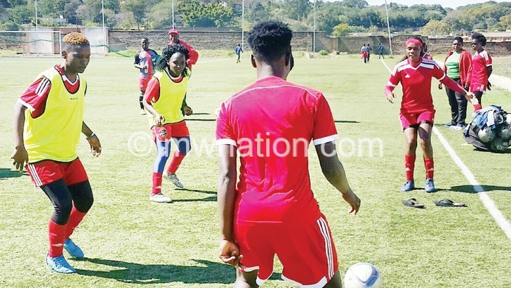 womens football   The Nation Online