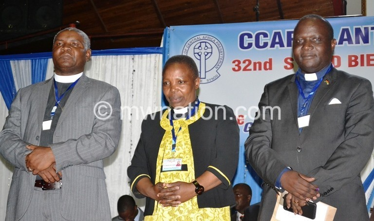 Blantyre Synod front billy gama mbolemole | The Nation Online