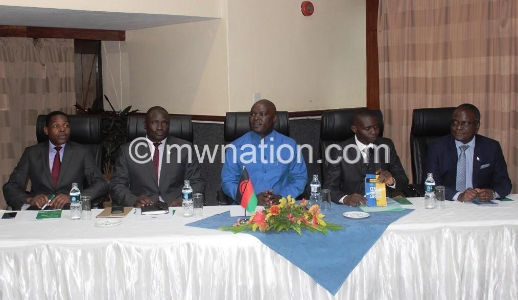 Jappie mhango meeting | The Nation Online