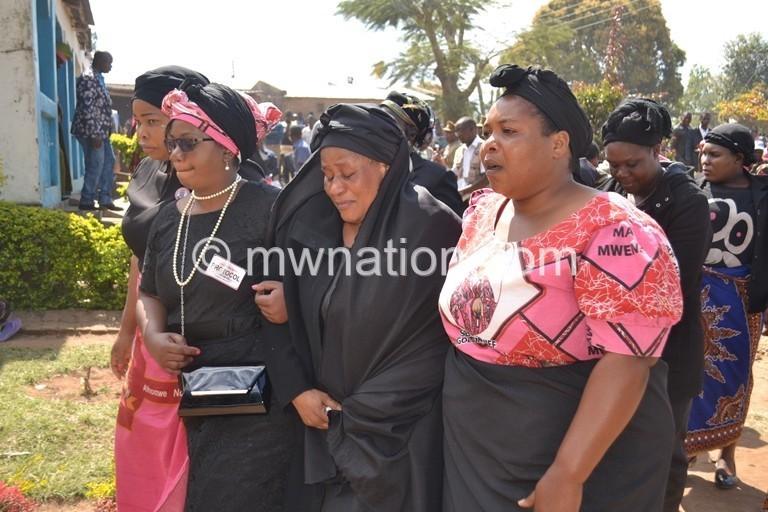 Ngolongoliwa widow | The Nation Online