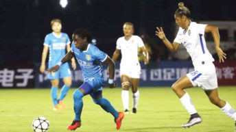 Tabitha leads scorers chart in China league