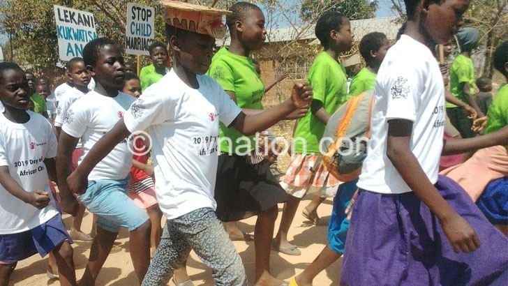 Youths in a big walk | The Nation Online