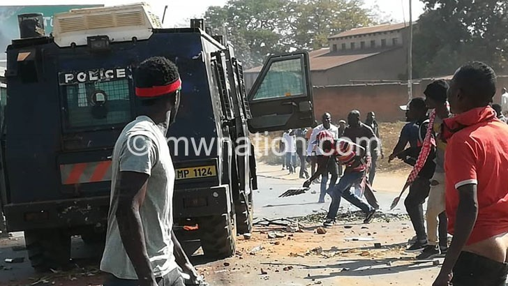 a police armoured vehicle | The Nation Online