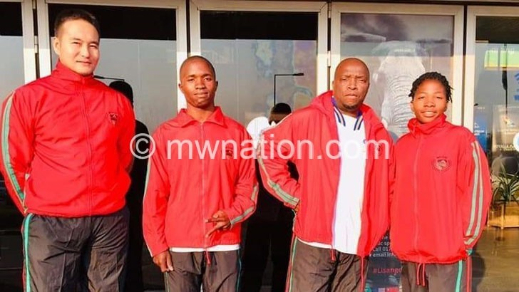 Malawi team leaves  for All Africa Games