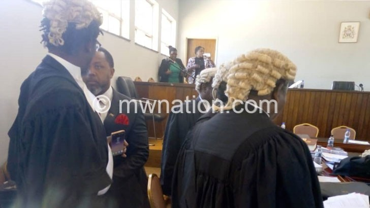 chilima and lawyers | The Nation Online