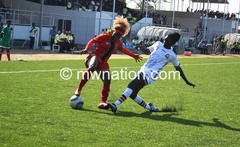 flames women football | The Nation Online