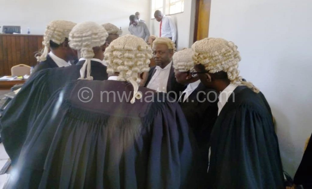 lawyers Court case today | The Nation Online