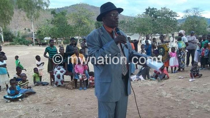 Chief worried over chieftaincy feud