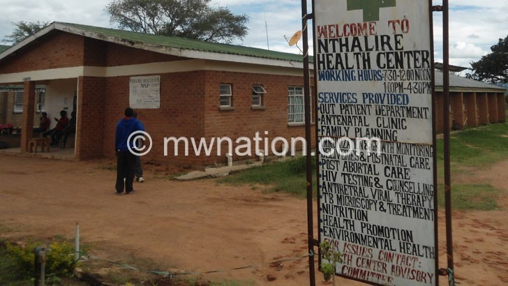 Nthalire Health Centre | The Nation Online