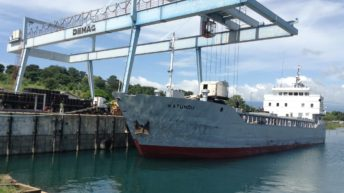 Drying ports threaten  water transport—report