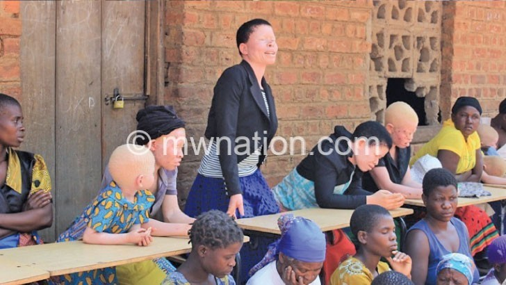Phalombe people with albinism still living in fear