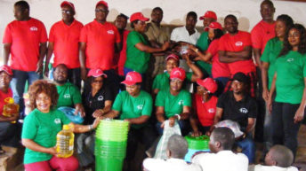 Chewa group cheers juvenile inmates in Dowa