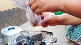 What's burning with plastics?