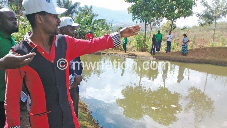 fish pond | The Nation Online