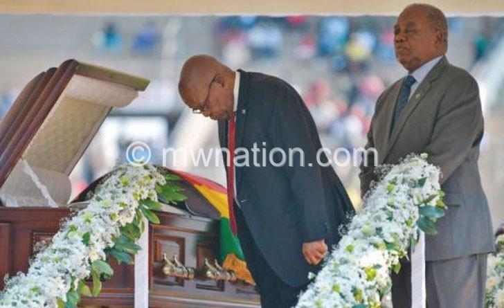 mugabe funeral zuma | The Nation Online
