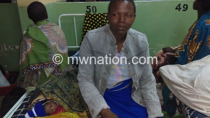Mothers face congestion at Ntcheu District Hospital