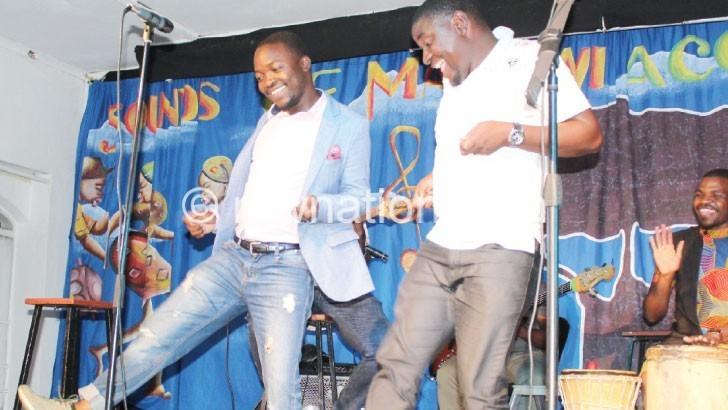 Artists Chapinda and Kaunda   The Nation Online
