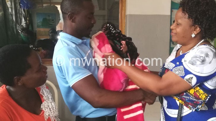 Lions Club of Lilongwe cheers up mothers