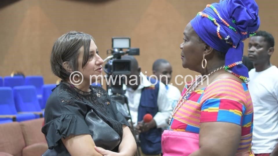 Connie Chiume and Sandra Paesen | The Nation Online
