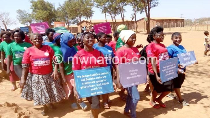 Dzaleka girls   The Nation Online